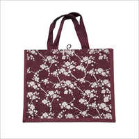 Ladies Printed Jute Bag