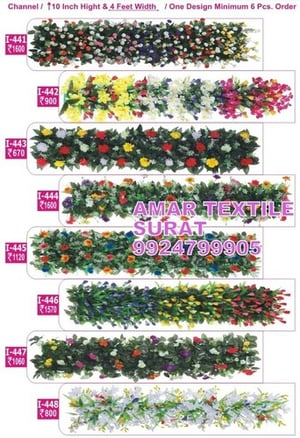 Decorative Artificial Flower for wedding stage