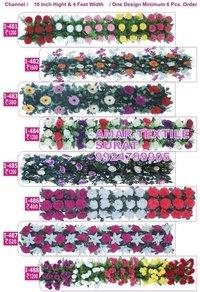 Handmade flower garland