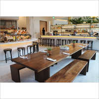 Wooden Restaurant Furniture