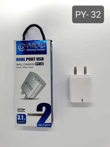 DUAL USB MOBILE CHARGER