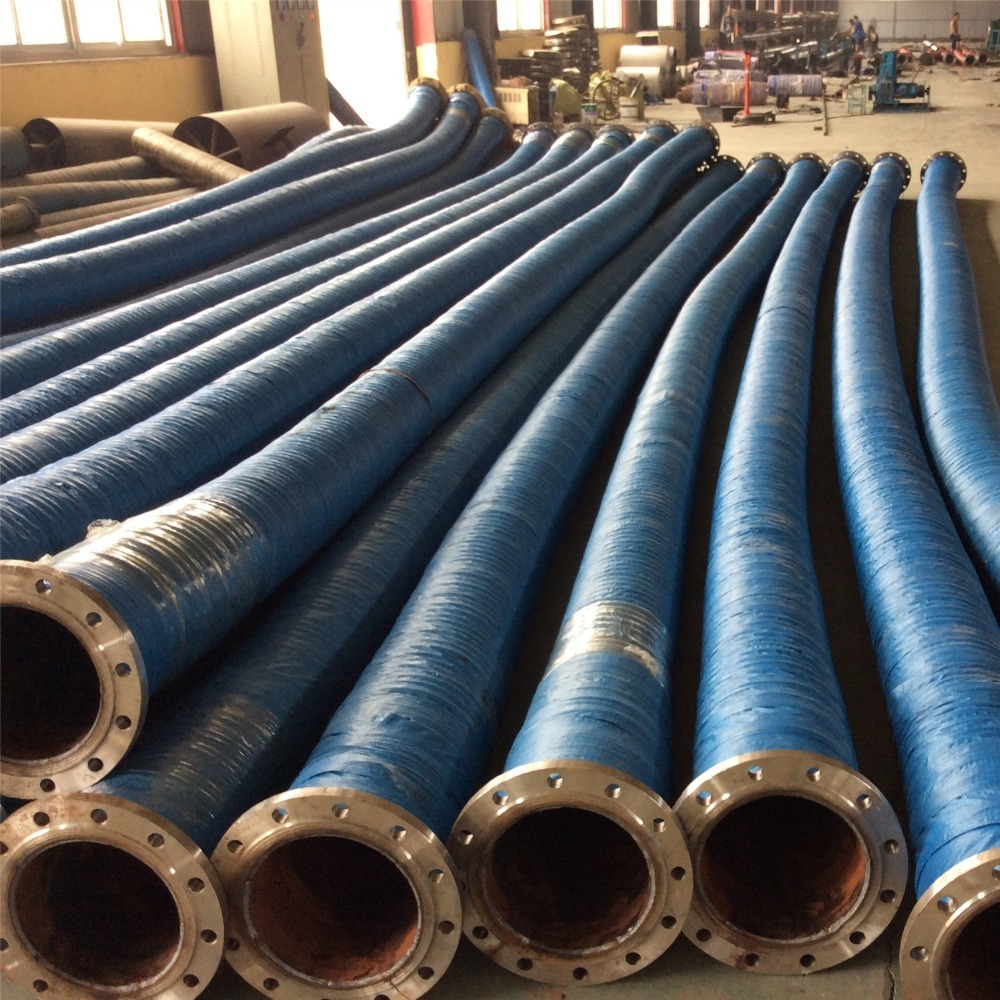 RIVER WATER RUBBER SUCTION HOSES