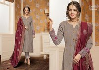 Stylish Banarasi Dupatta Suits