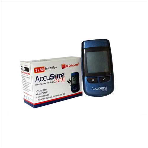 Blood Glucose Soul Test Strips With Monitor