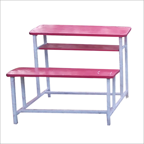 Wooden Top School Bench