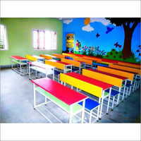 Kids School Bench