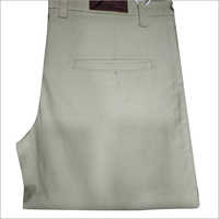 Mens Cotton Plain Trouser