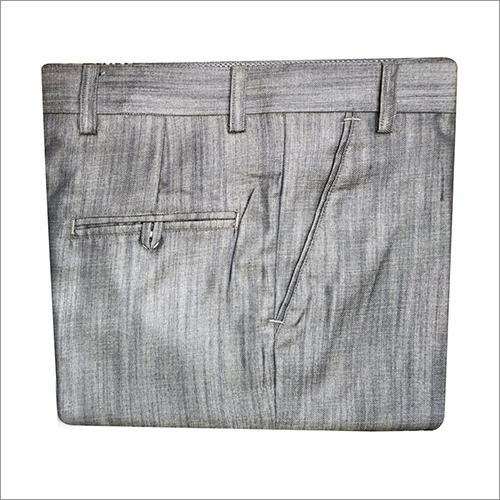 Mens Casual Plain Trouser