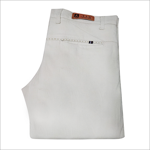 Mens Cotton Slim Fit Trouser