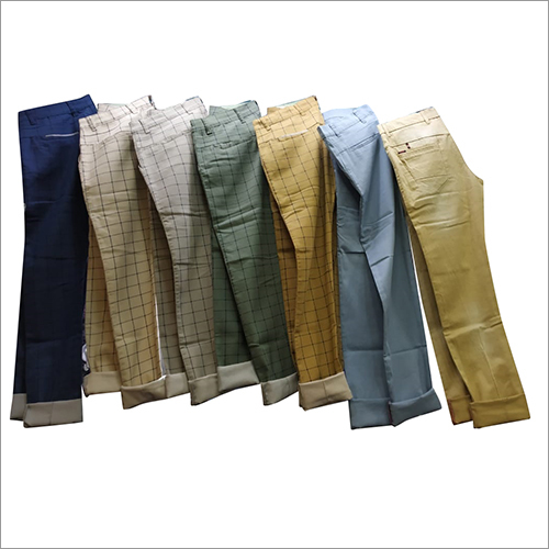 Designer Mens Plain Trouser