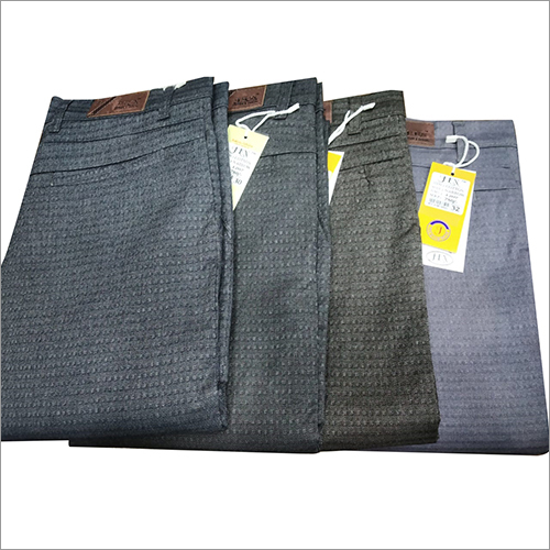 Mens Designer Plain Trouser