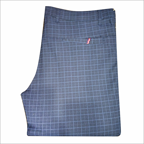 Fashionable Mens Checked Trouser