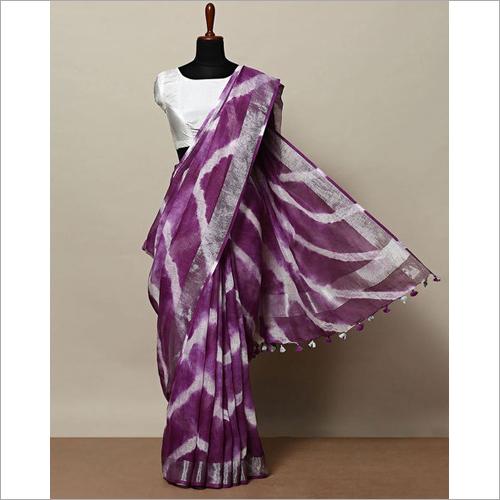 Ladies Tie Dye Sarees