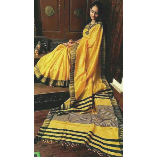 Ladies Designer Plain Saree