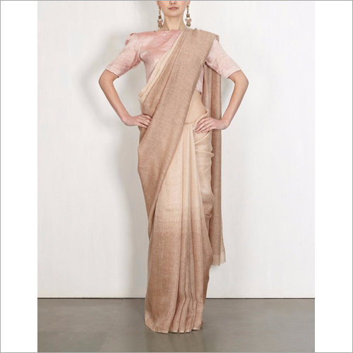 Ladies Trendy Plain Saree