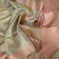 Ladies Silk Casual Wear Plain Saree