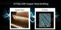 Copper GI Earthing Strip