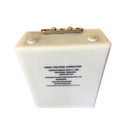 High Voltage Capacitor 100kV 0.04uF 40nF,Fast Pulse Capacitor