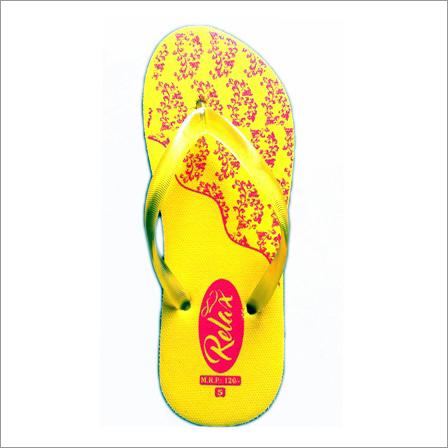 Womens Yellow Slipper