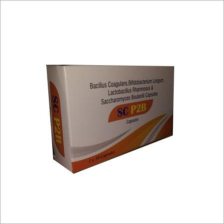 Bacillus Coagulans,Bifidobacterium Longum,Lactobacillus Rhamnosus & Saccharomyces Boulardii Capsules