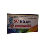 Calcium Carbonate,Calcitriol,Vitamin K2-7,Elemental Boron,Elemental Magnesium,Elemental Zinc & Mecobalamine Tablets