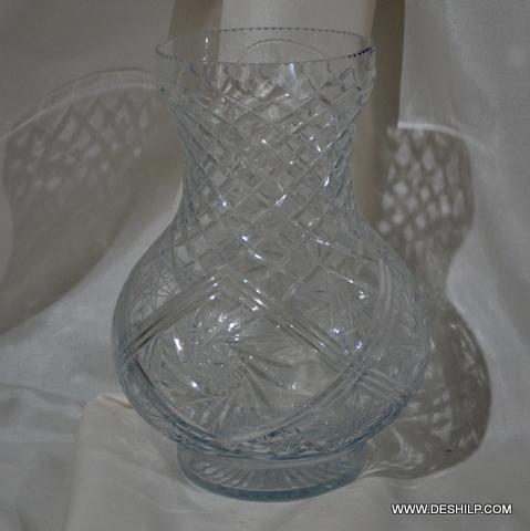 Handicraft Decor Glass Flower Vase