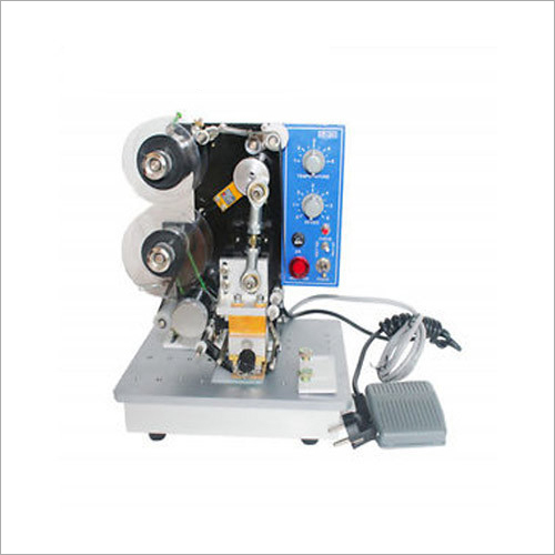 Electric Ribbon Printer Machine