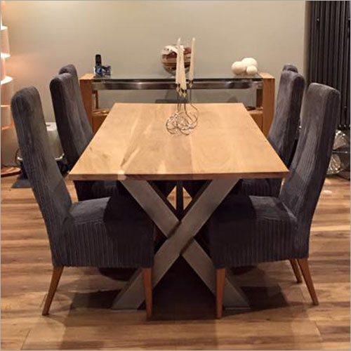 Cross Leg Industrial Table