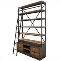 Industrial Book Shelf