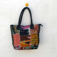 Vintage Patchwork Kantha Bags