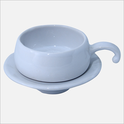 100 ml Ceramic Coffee Cup with Saucer