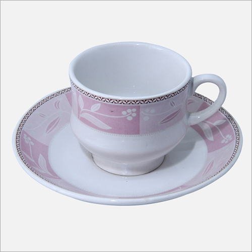 160 ml Ceramic Cup  Saucer