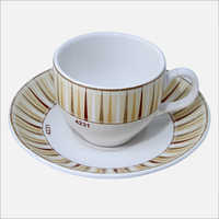140 ml Ceramic Cup and Saucer