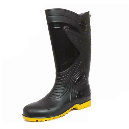 Mens 16 Inch Yellow Sole Gumboots