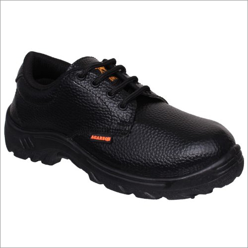 Mens PVC Sole Lace Up Safety Shoes