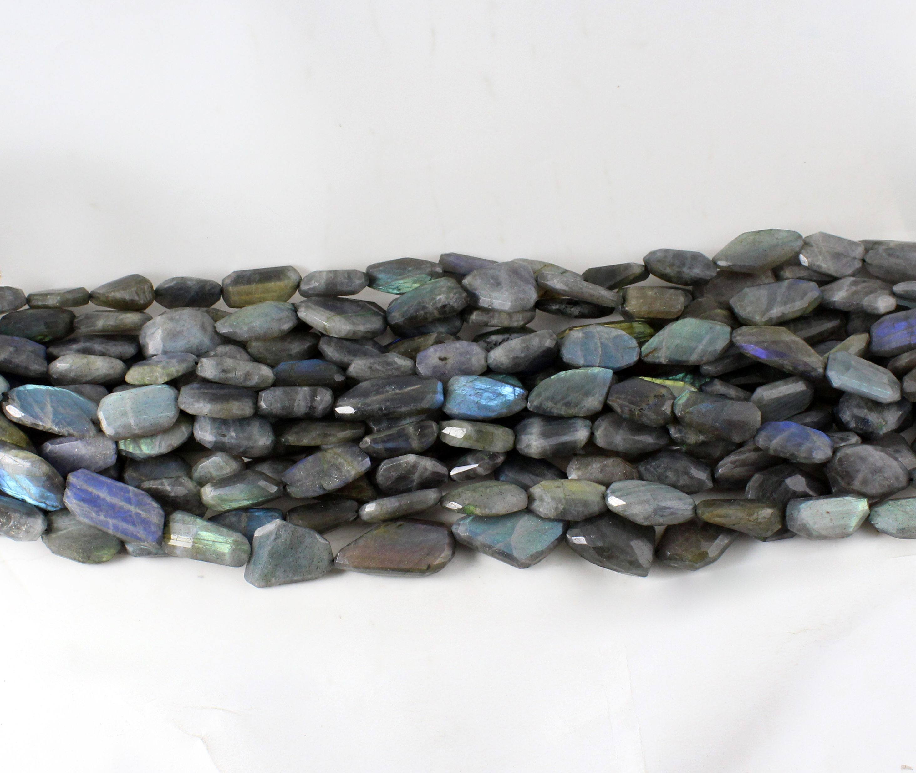 Labradorite Nuggets Beads