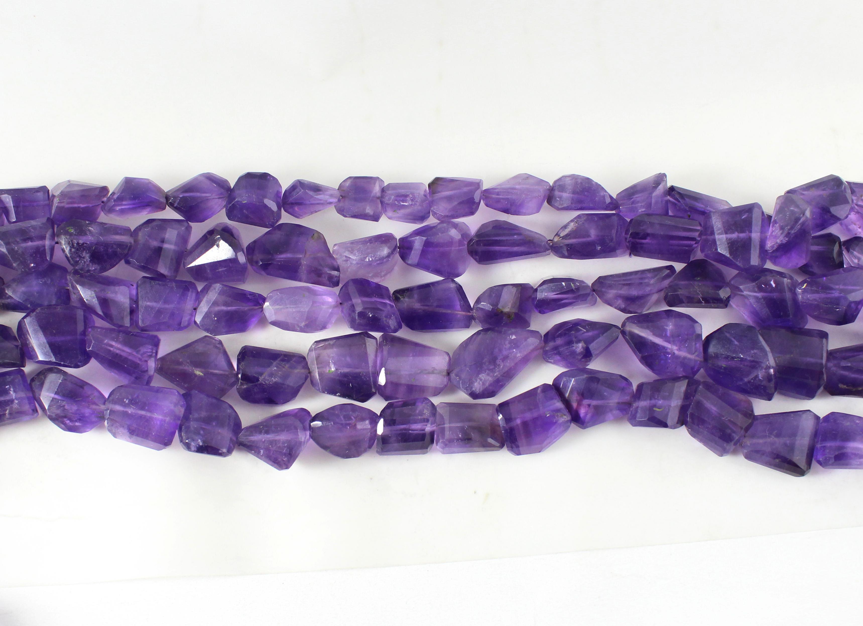 Amethyst Laser Cut Beads