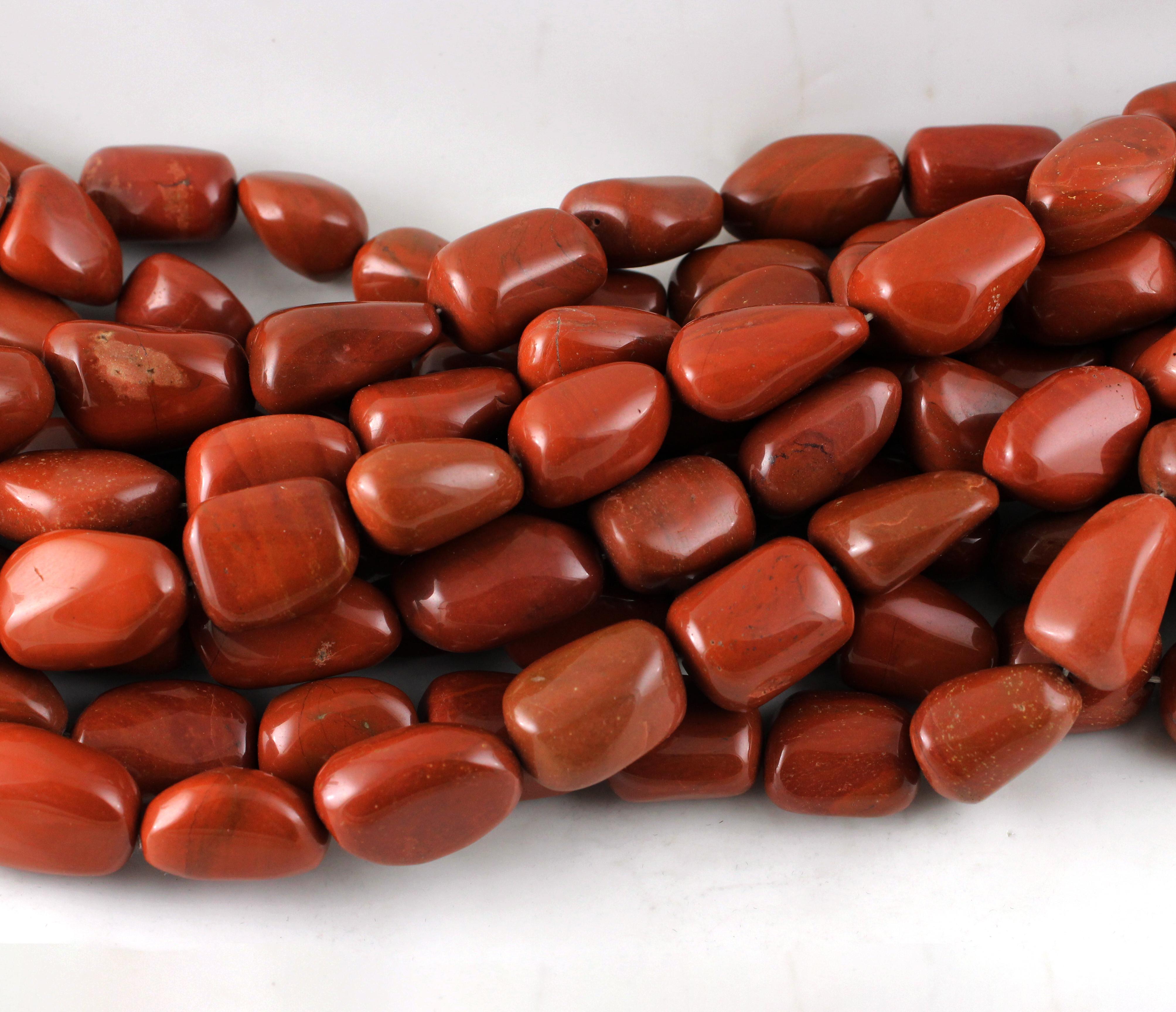 Jasper Nugget Beads