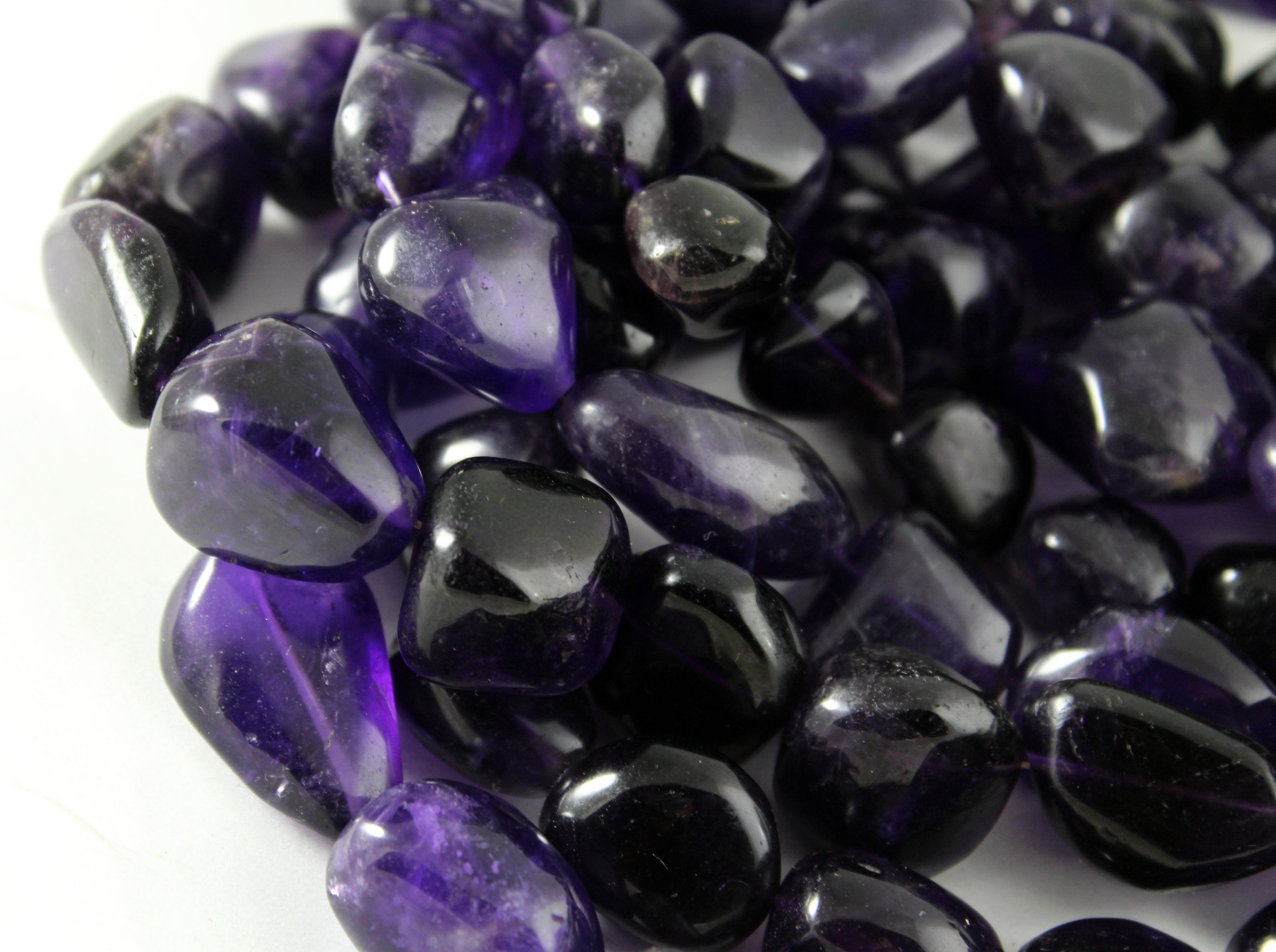 Amethyst Smooth Nugget Beads