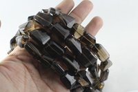 Smoky Quartz Nugget Beads