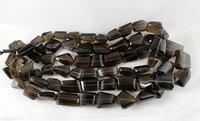 Smoky Quartz Nugget Beads
