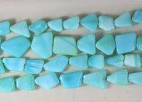 Peru Blue Opal Nuggets Beads