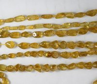 Citrine Smooth Nugget Beads