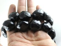 Black Onyx Nugget Beads