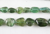 Apatite Nugget Beads