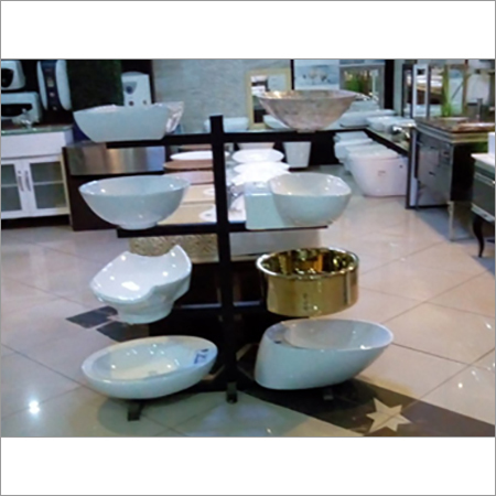 Sanitary Designer Ware Display Stand