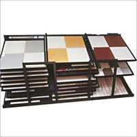 Floor Tiles Vertical Display Stand