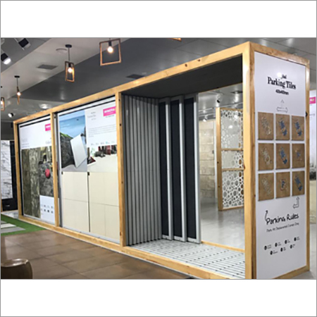 Ceramic Wall Tiles Display Stand