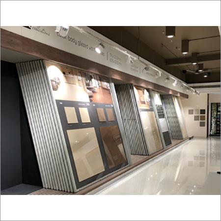 Floor Tiles Display Stand