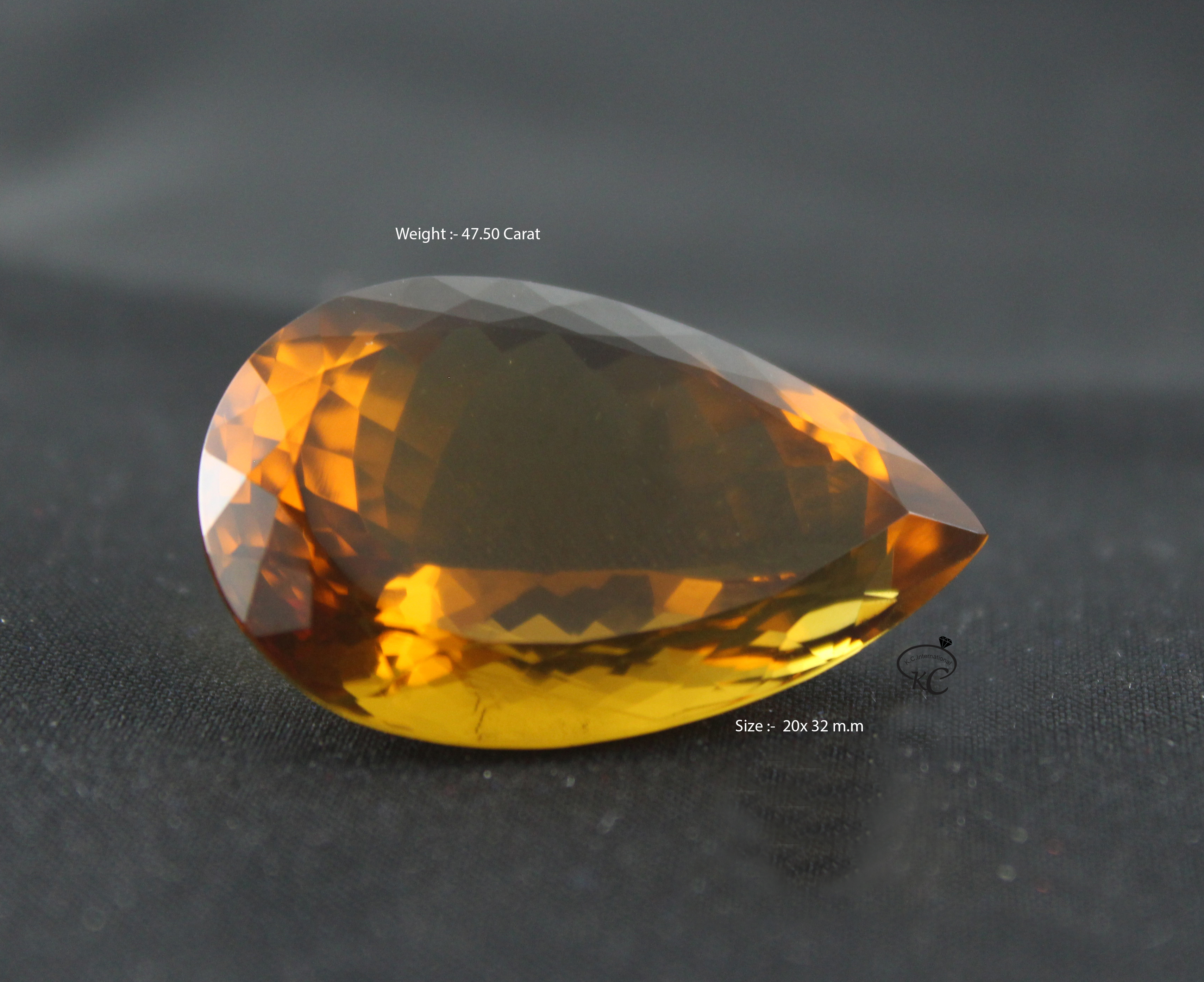 Natural Whisky Quartz Gemstone